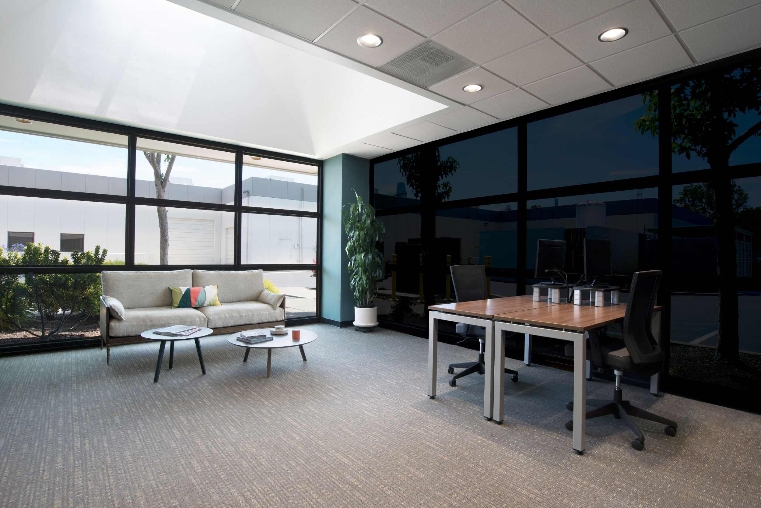 Window Tinting Office Design