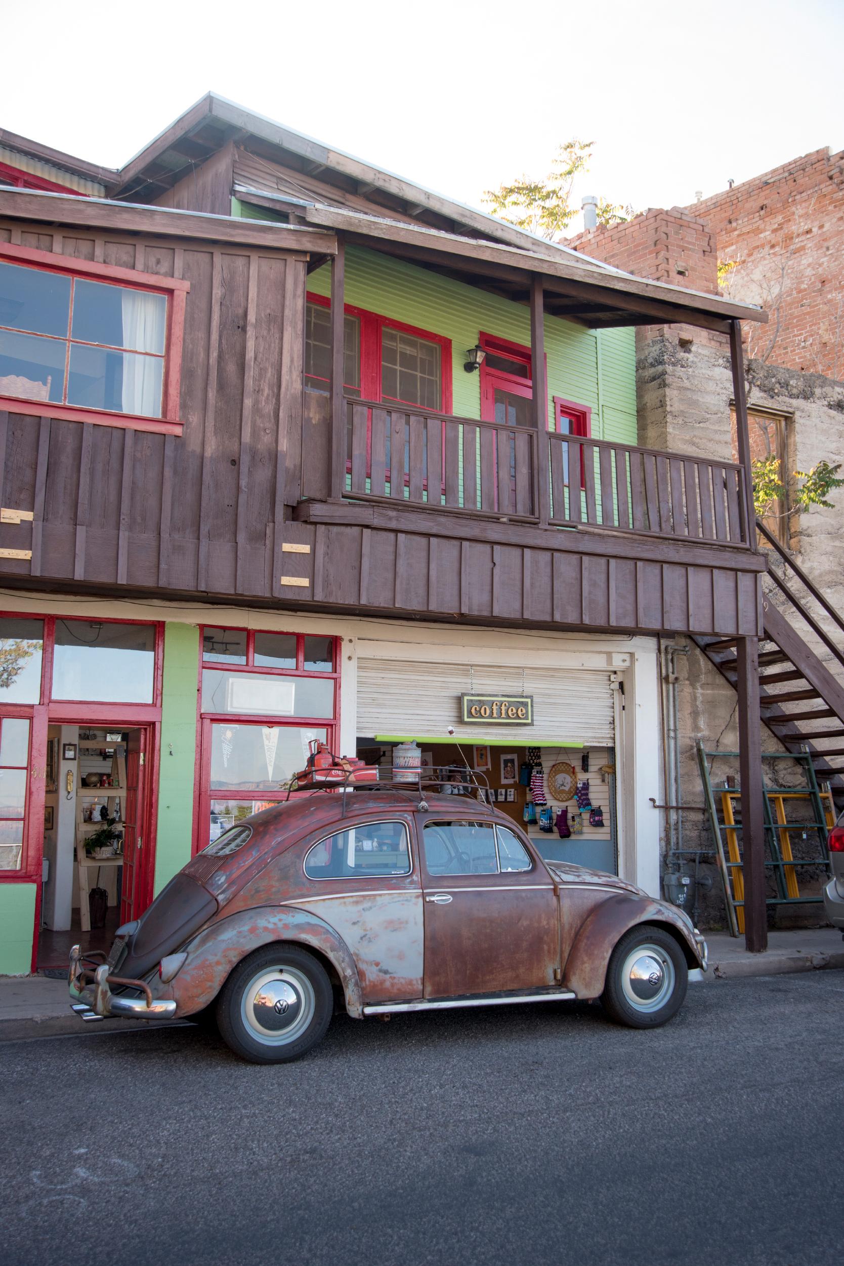 Cafe with Volkswagen