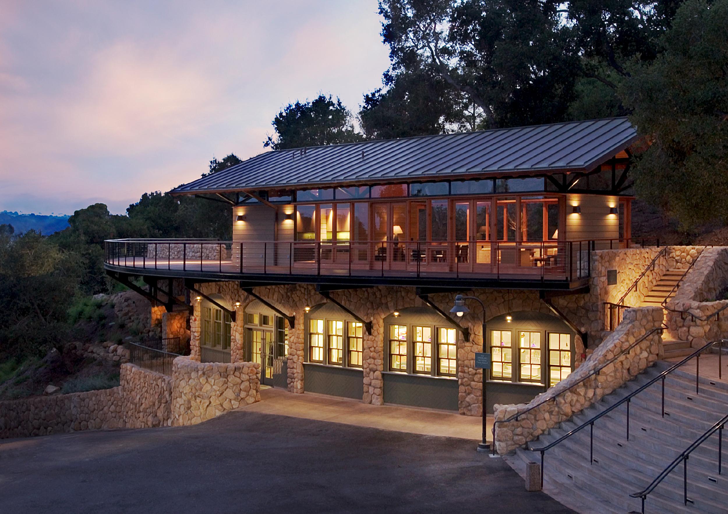Santa Barbara Bowl Stadium Lounge