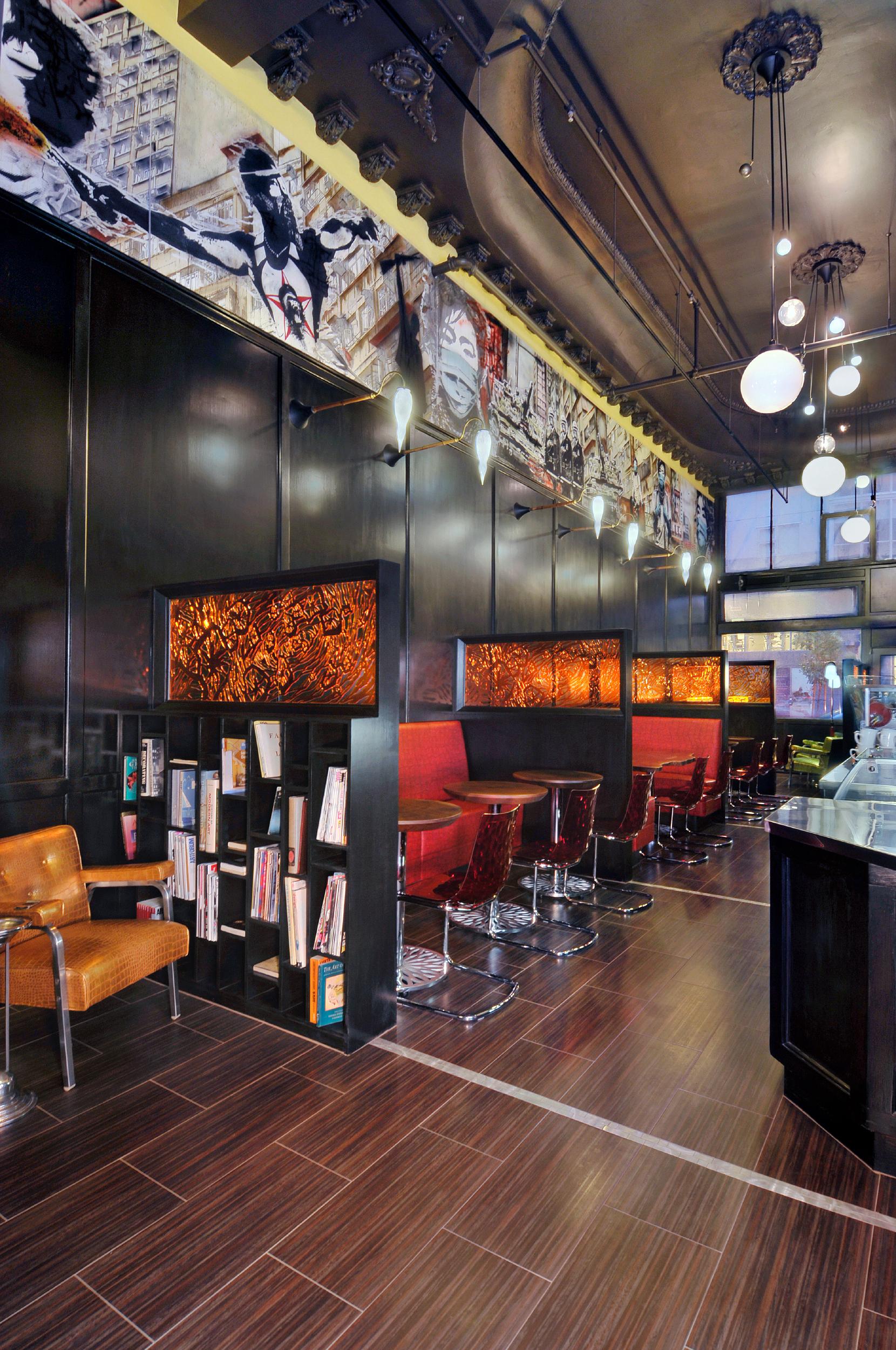 Coffee Bar Library