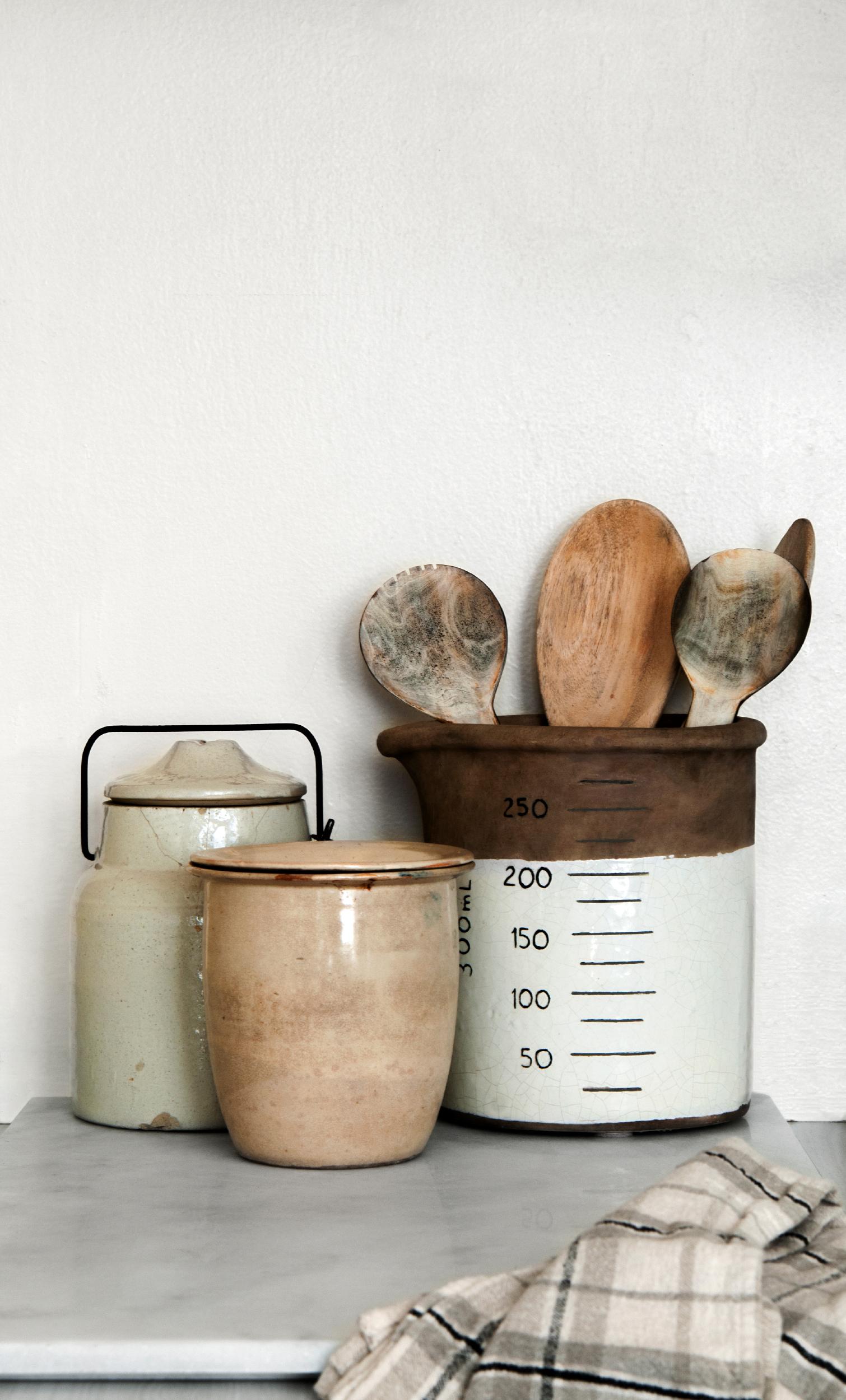 Utensils and Jars
