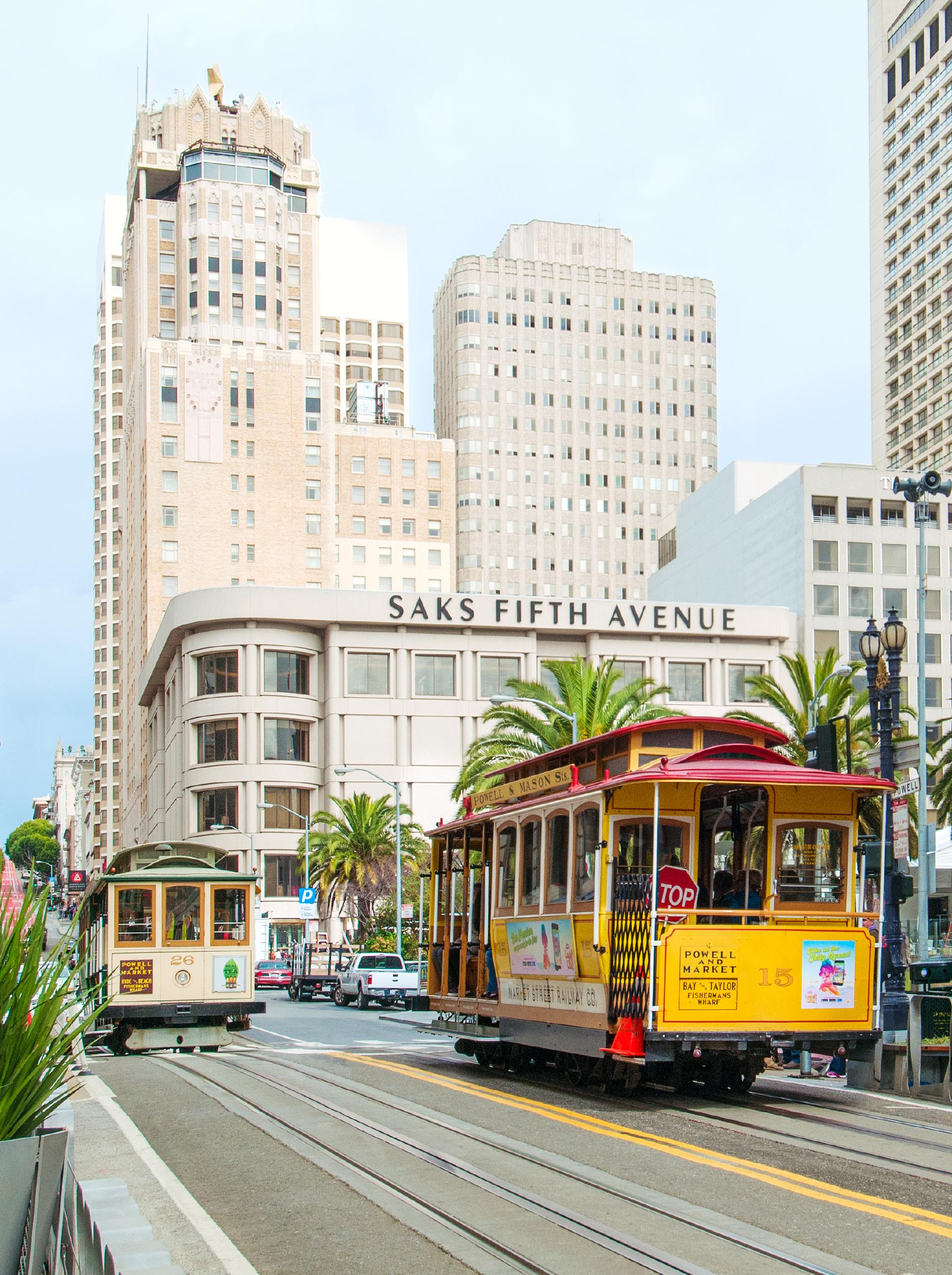 San Francisco Trolley Cars