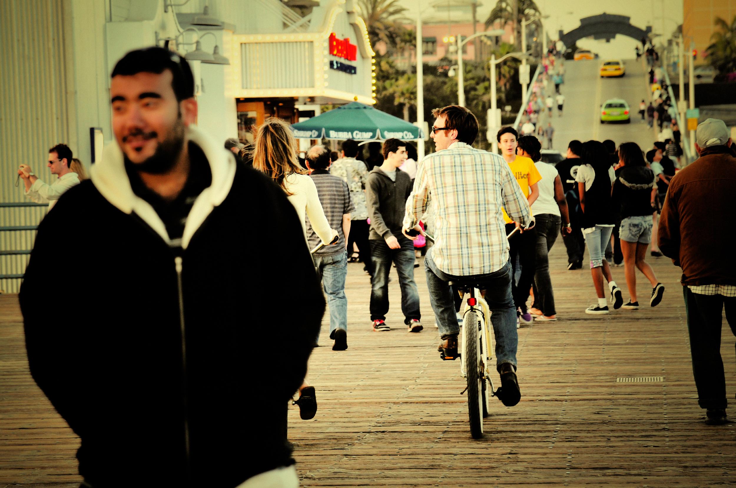 Santa Monica Pier Lifestyle
