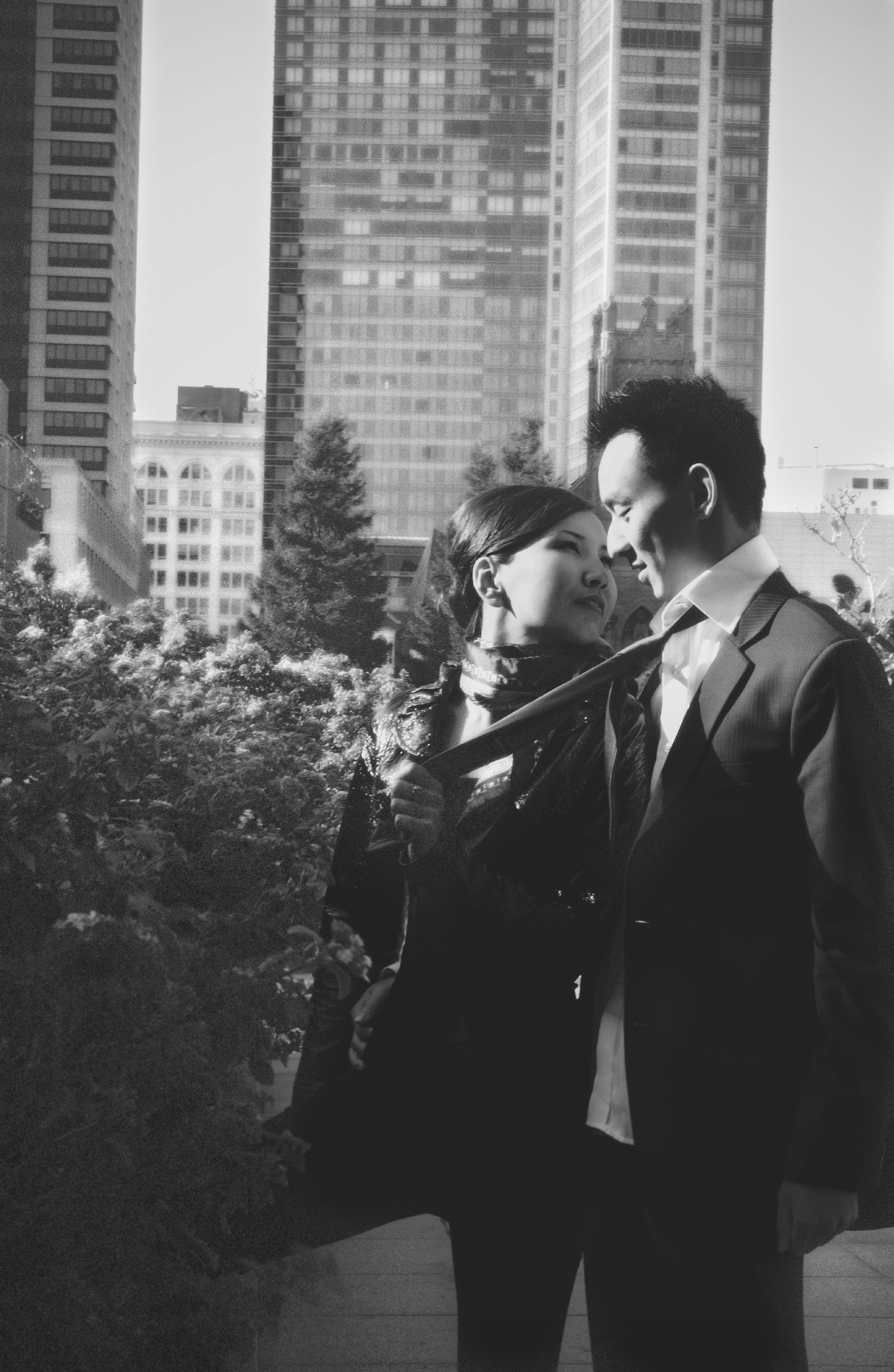 Engagement at Yerba Buena Gardens