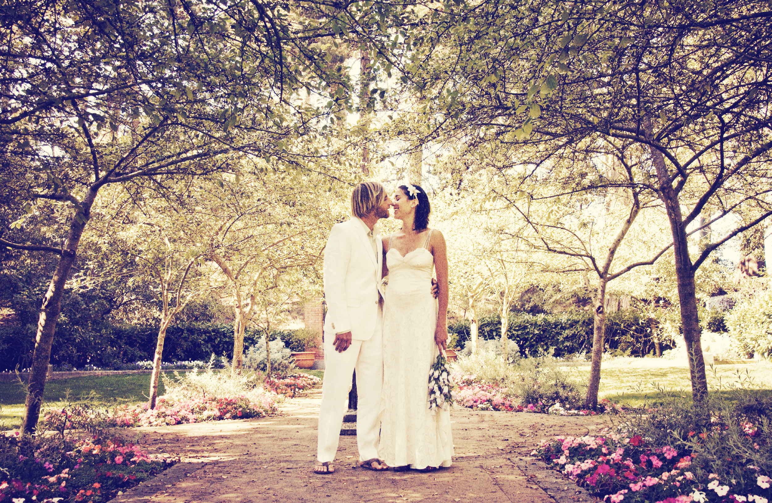 Shakespeare Gardens Wedding
