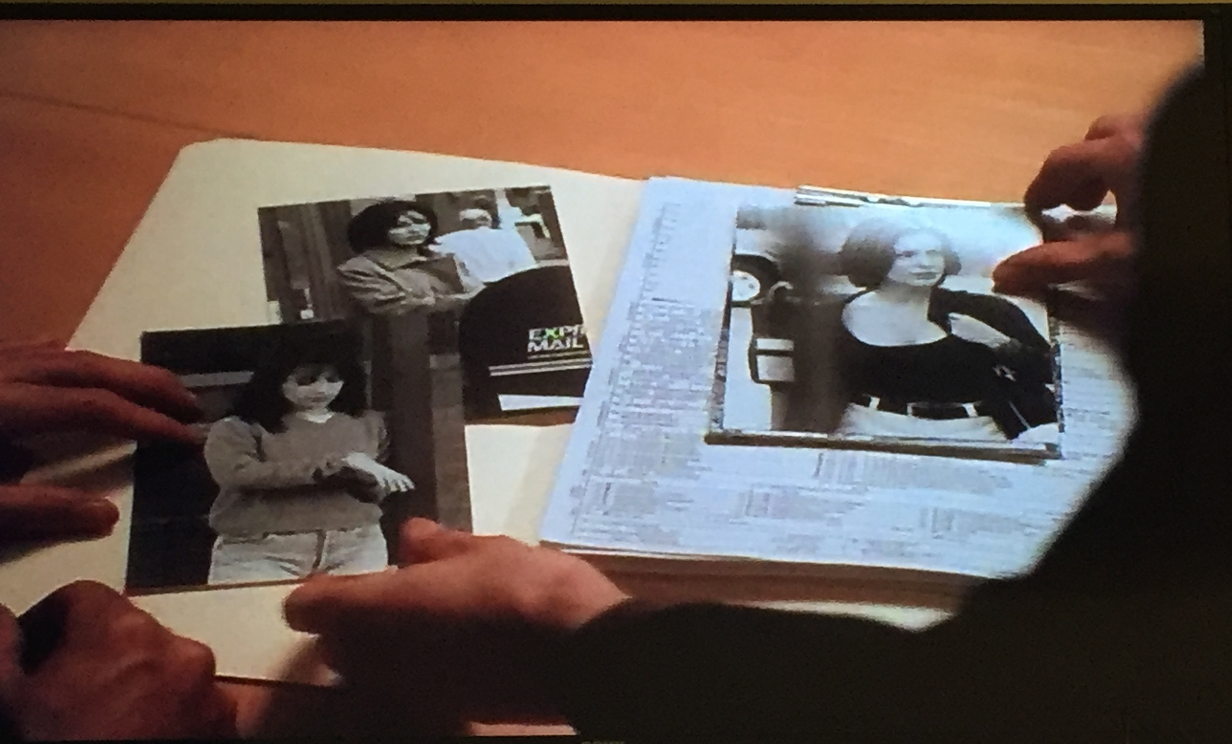 These are the pictures that Rex shows Matthew. The ones of Phoebe and Piper will be seen again in a future episode.