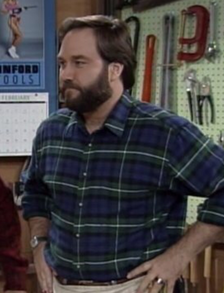 This is the guy, Al Borland, from Home Improvement that the dead guy reminded Kat of.