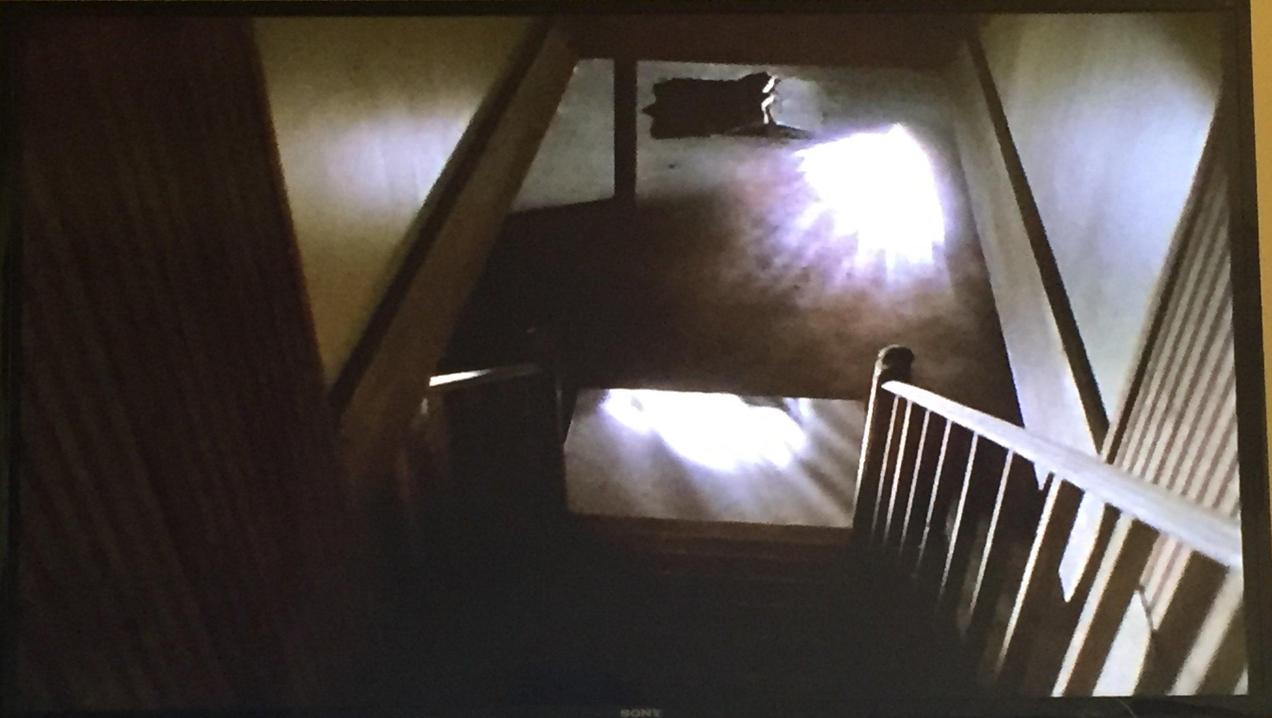 That dark basement looks awfully bright...