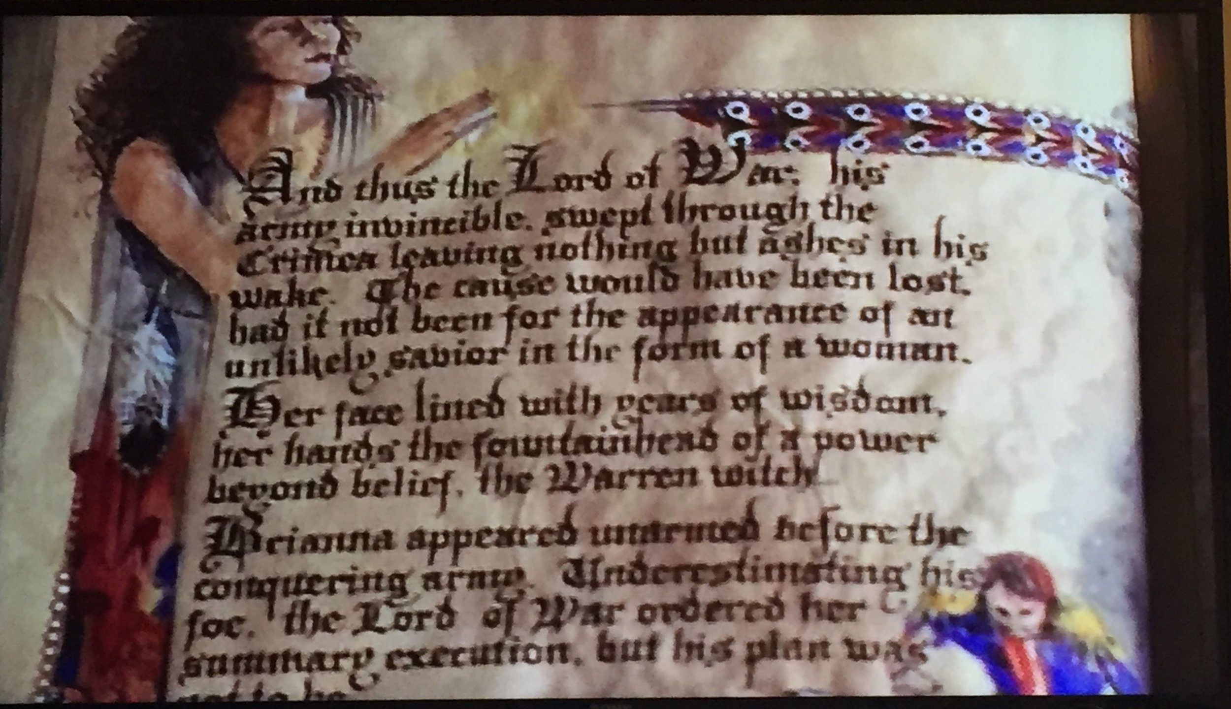 Book of Shadows entry for the Lord of War.