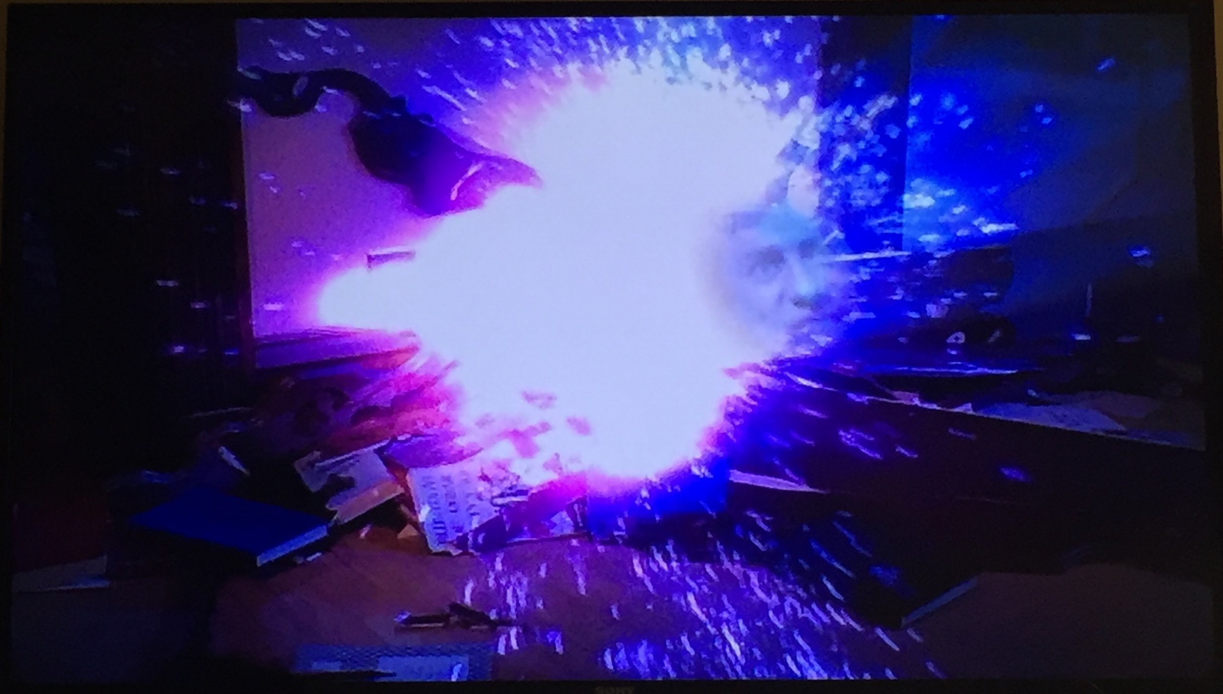 Gotta love the face in the explosion!