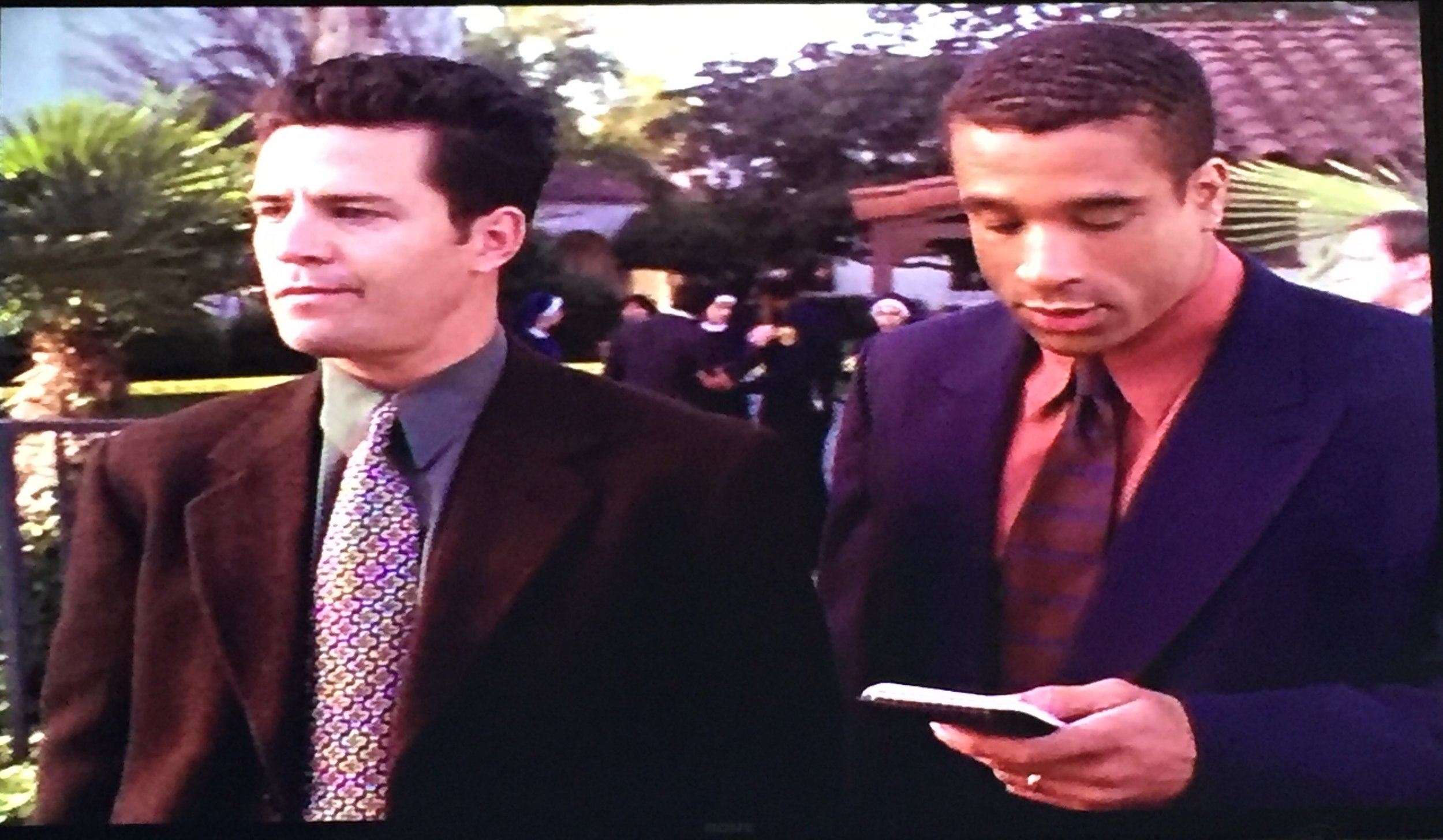 Andy and Darryl. The only cops in the city.