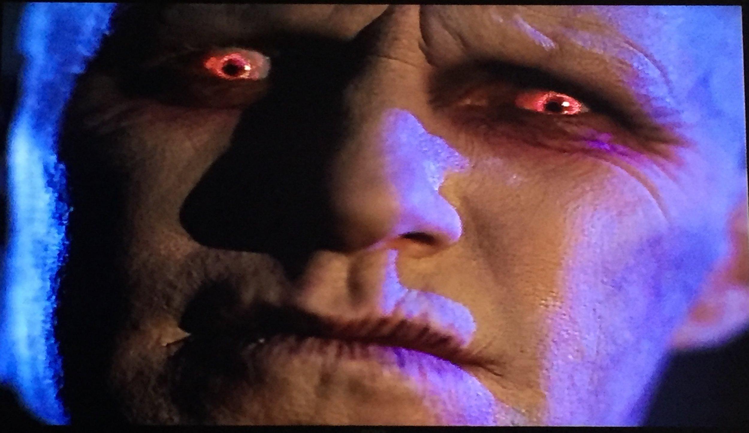 Swirly red eyes...