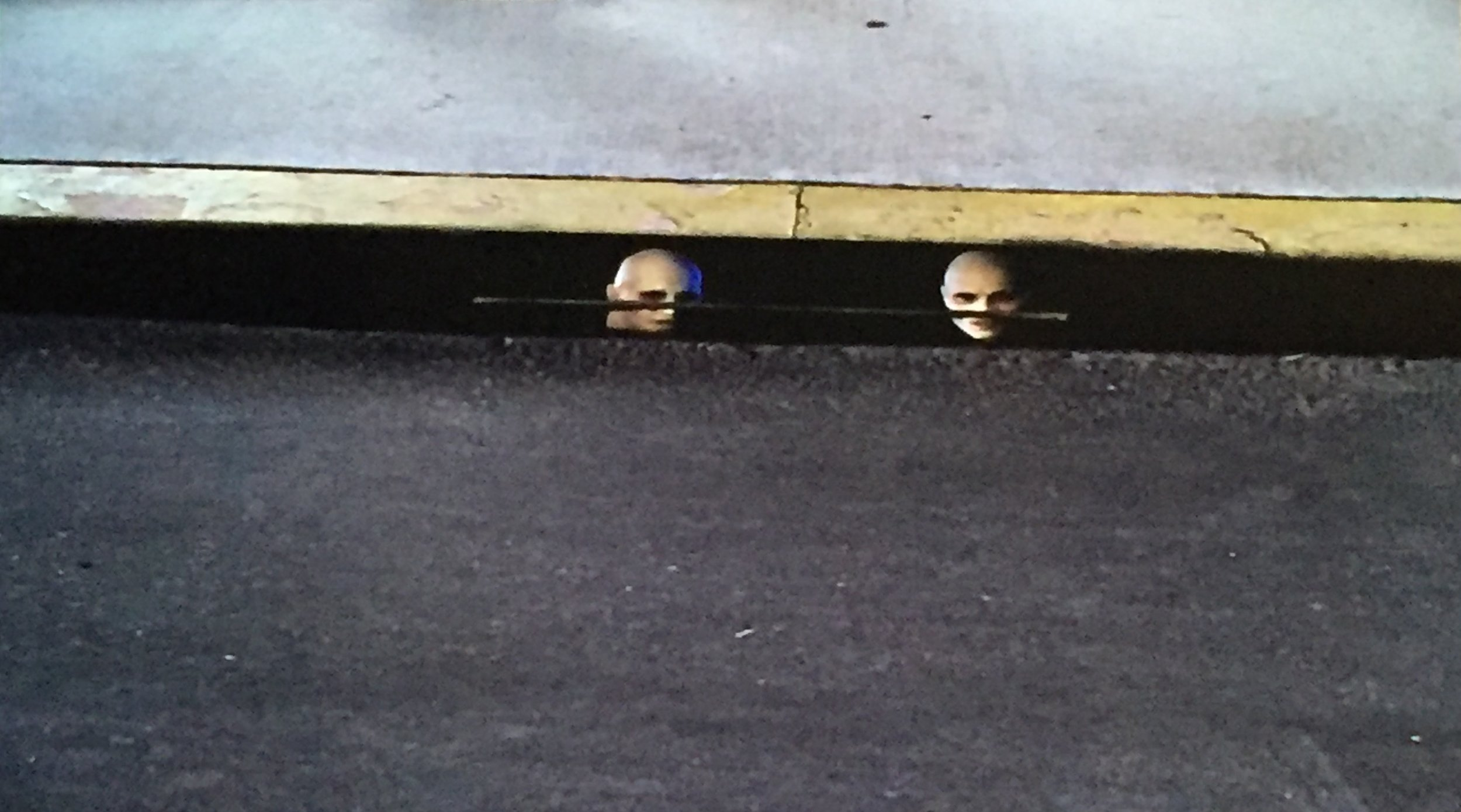 Albino demons in a sewer...