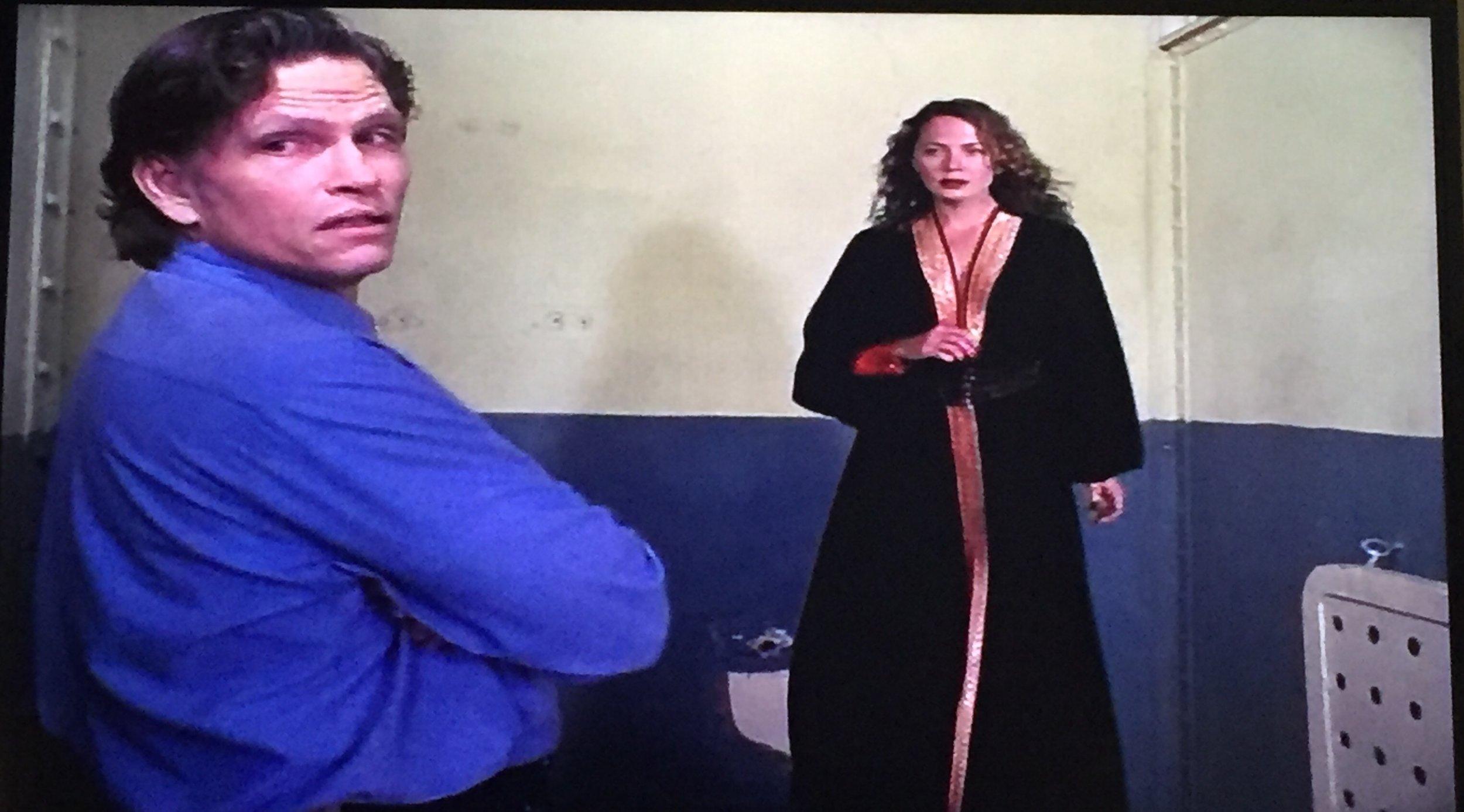 "Jackson Ward and ""Black Robe Lady"""