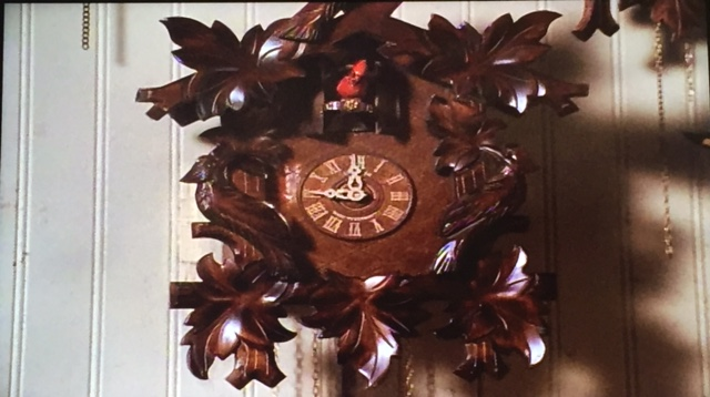 The cuckoo clock. Before.