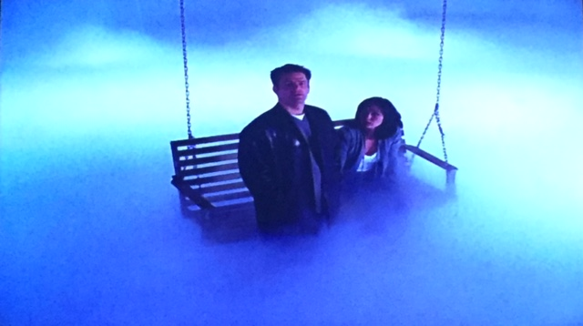 Is this supposed to be heaven? Either way, Andy's staying and Prue isn't.