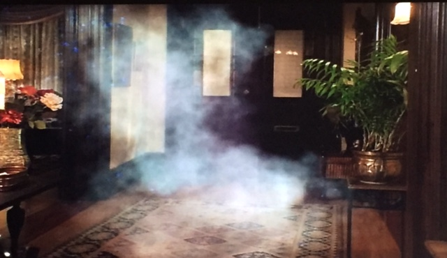 ...leads to smoke in the foyer.