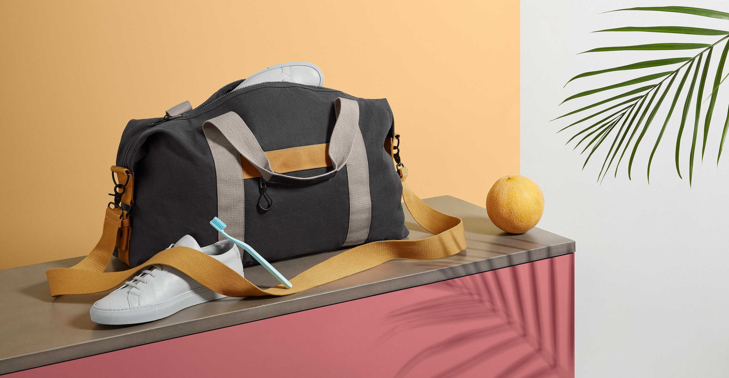 I art directed the photography for Made.com's first range of backpacks and weekenders, this includes a selection of the still life and model images.