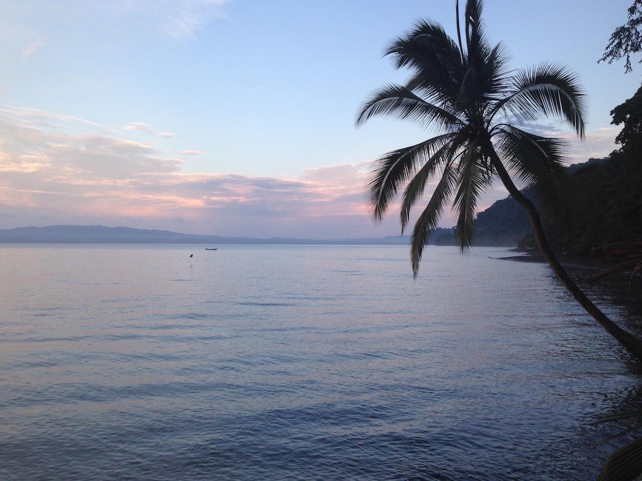 Dawn on Playa San Josecito