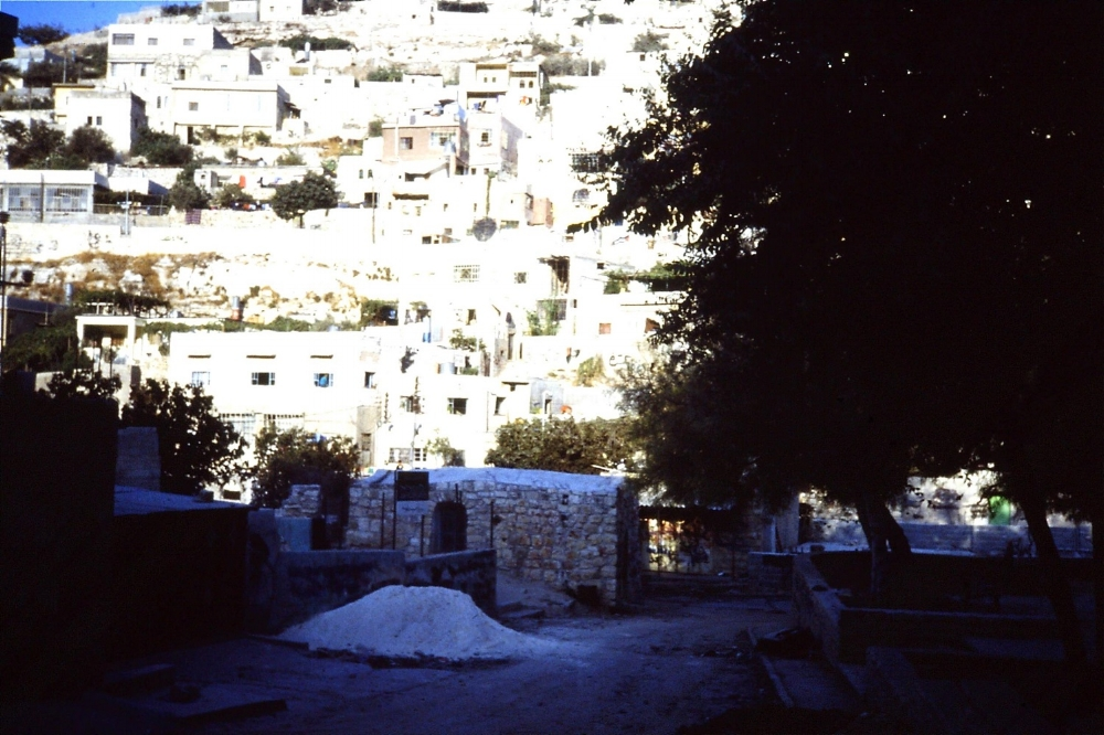 Silwan, West Bank, 1990. Credit: Eleanor Scott
