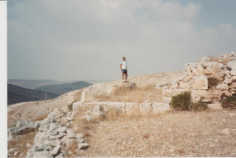 Deir Samaan and landscape. Credit: Eleanor Scott