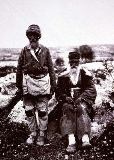 "Gertrude Bell A86 1900, ""Jews from Bokhara"" By Roadside. Gertrude Bell Archive Newcastle University"