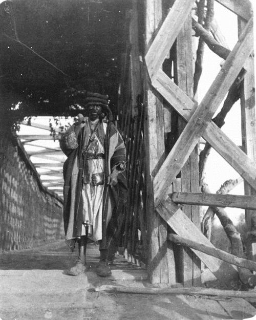 Gertrude Bell 1900, A129, Keeper of the Jordan Bridge.Gertrude Bell Archive Newcastle University