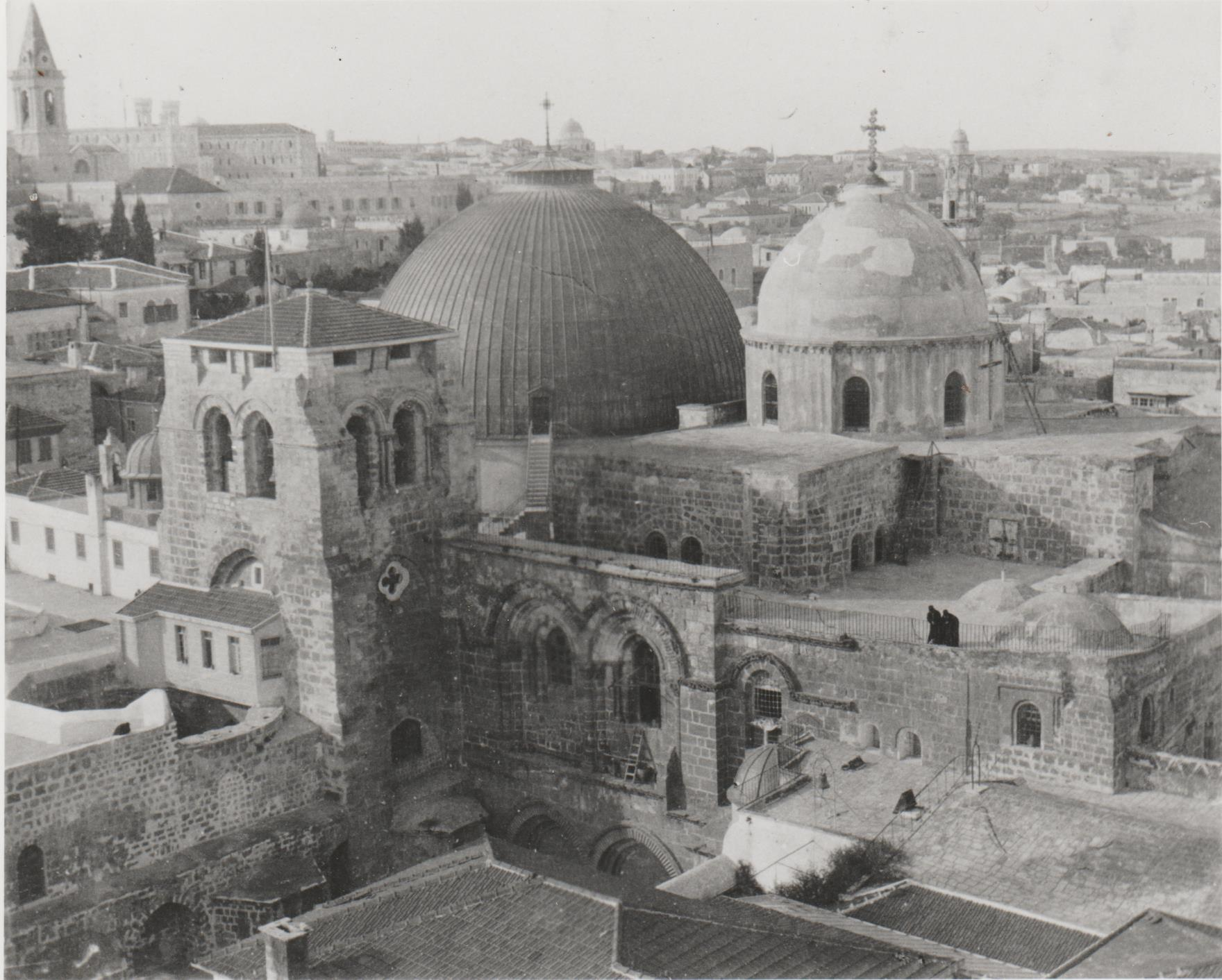 Gertrude Bell 1900, Church of the Holy Sepulchre Old City Jerusalem, Gertrude Bell Archive Newcastle University