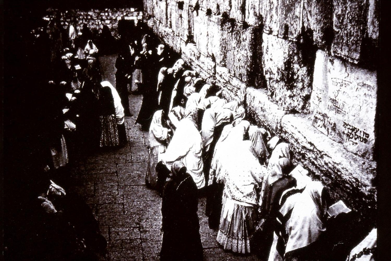 Gertrude Bell 1899, A34 Western Wall Old City Jerusalem,Gertrude Bell Archive Newcastle University.