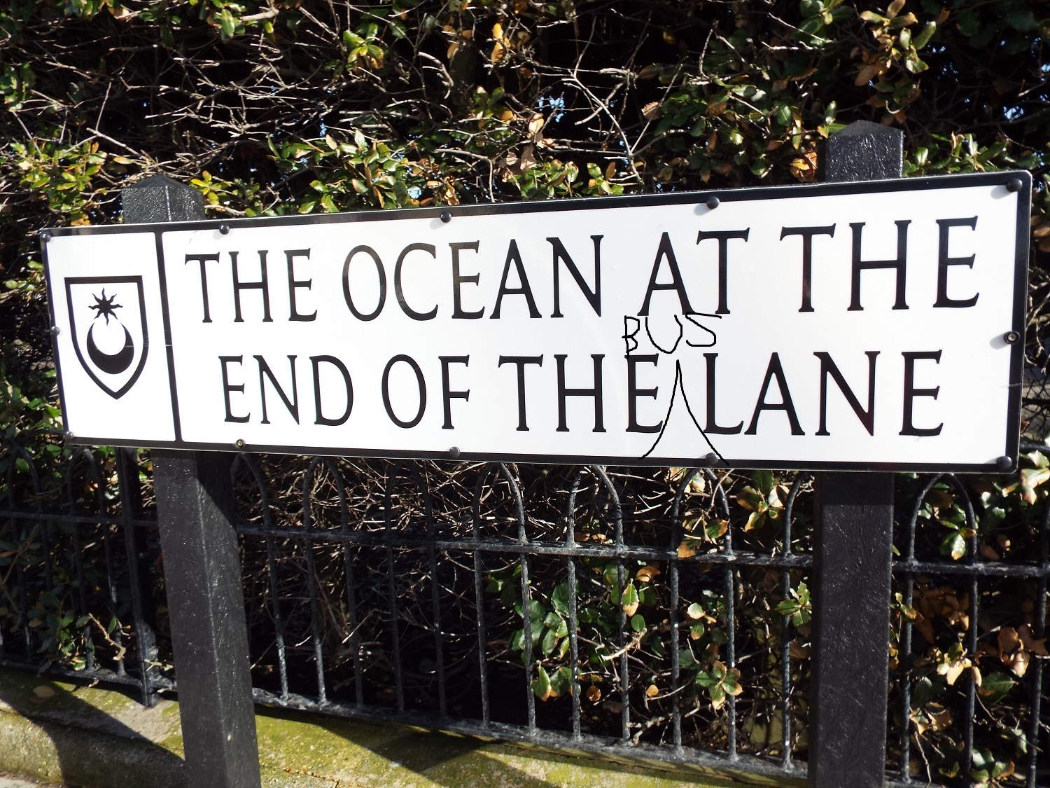 The Ocean At The End Of The Lane, named for Neil Gaiman in 2013