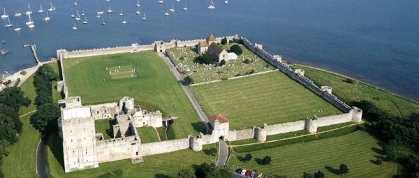 Portchester Castle. Photo credit: English Heritage