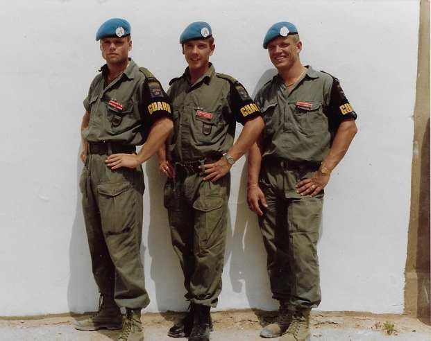 UNIFIL troops in Lebanon, 1990 - Take That have got nothing on these boys