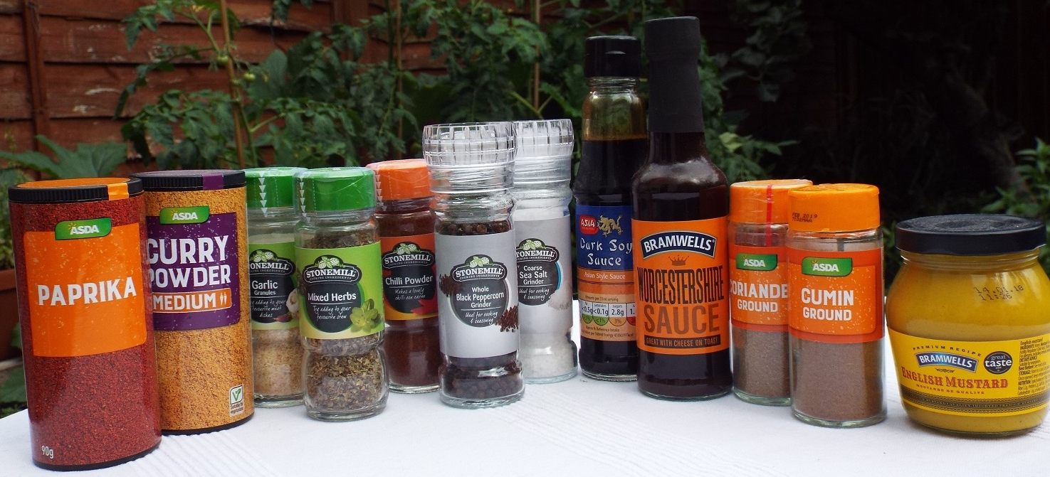 A basic Dig Kitchen supply kit might usefully include these. Larger sizes are available...