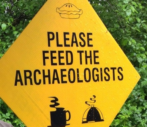 Excavation Challenges - Please Feed The Archaeologists (Recipes 4 All) - Bulk food recipes you can make for everyone - in a cramped shed'Dig food is dig fuel - never underestimate its importance for powering an excavation'