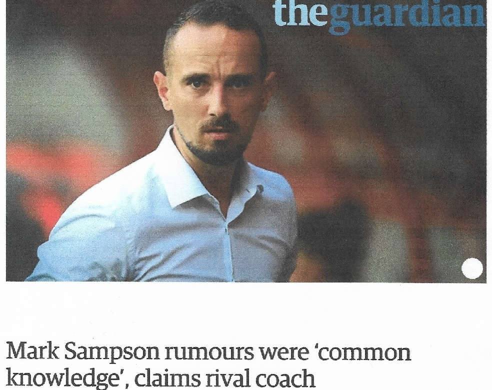 Reflections on a Resignation - football, politics and chucking women under the bus - '... in the last few days I've been reading about the Football Association's (mis)handling of the Mark Sampson case, particularly the allegations of his poor conduct involving women, and the saga has perhaps inevitably planted elements of the Hancock debacle at the forefront of my brain again.'