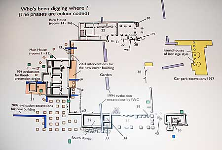 Brading Roman villa - who's been digging through the ages? (Source: Current Archaeology, posted by Andrew Selkirk)