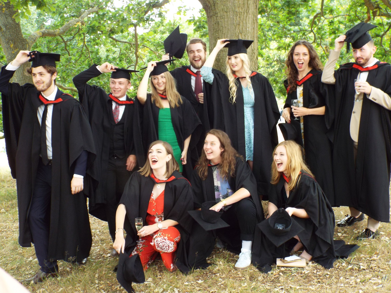 Freed from the captivity of their hutches, the young graduates feel the warm earth under their feet for the first time in years