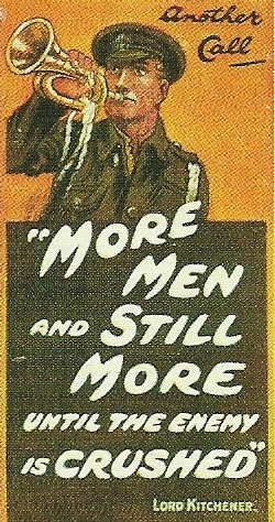 Poster published by the Parliamentary Recruiting Committee, London