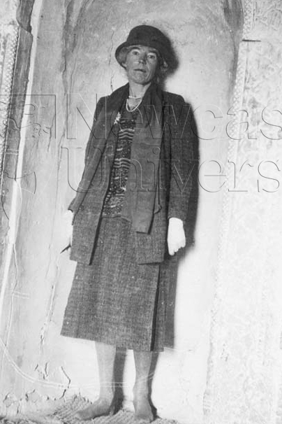 Gertrude Bell and her formidable gaze (Credit: Gertrude Bell Archive, Newcastle University - Cat. No. Pers B 3)