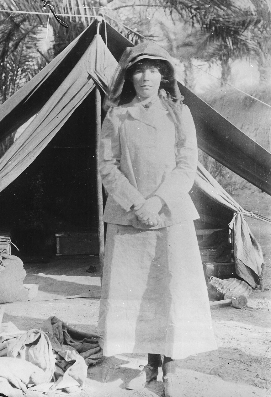 Gertrude Bell - in Search of the 'Real Woman' - Short review of the film 'Queen of the Desert'andForthcoming Book Preview