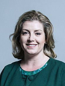 Penny Mordaunt official portrait (wiki commons)