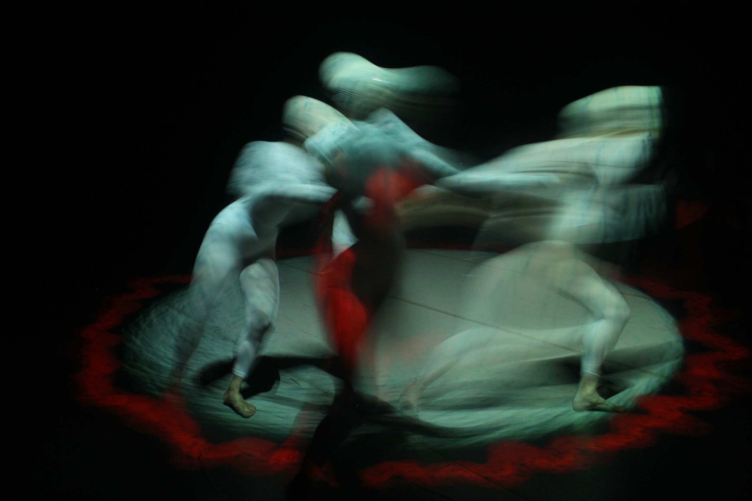 Birth of Stars; A contemporary dance, digital light projection and sound art performance at G-Live.