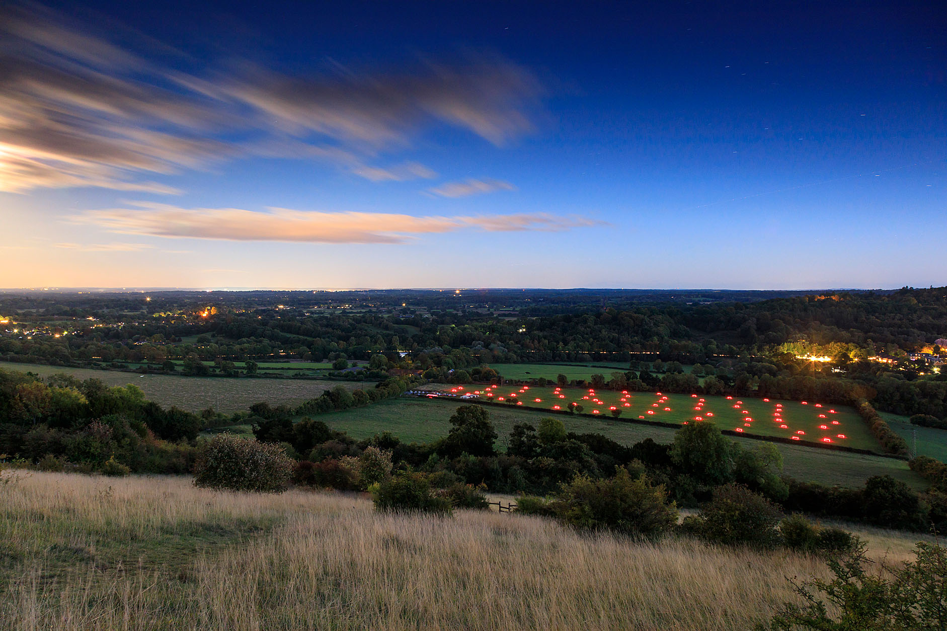 View from Box Hill. John Miller.