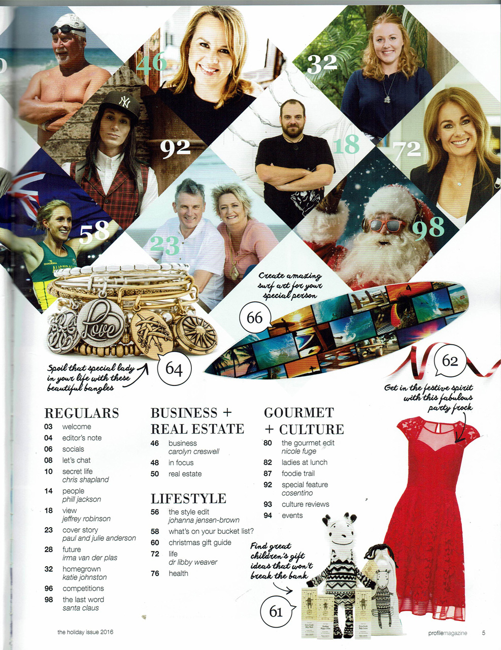 BigFish tattoo in the Bucket list Edition of Profile Magazine