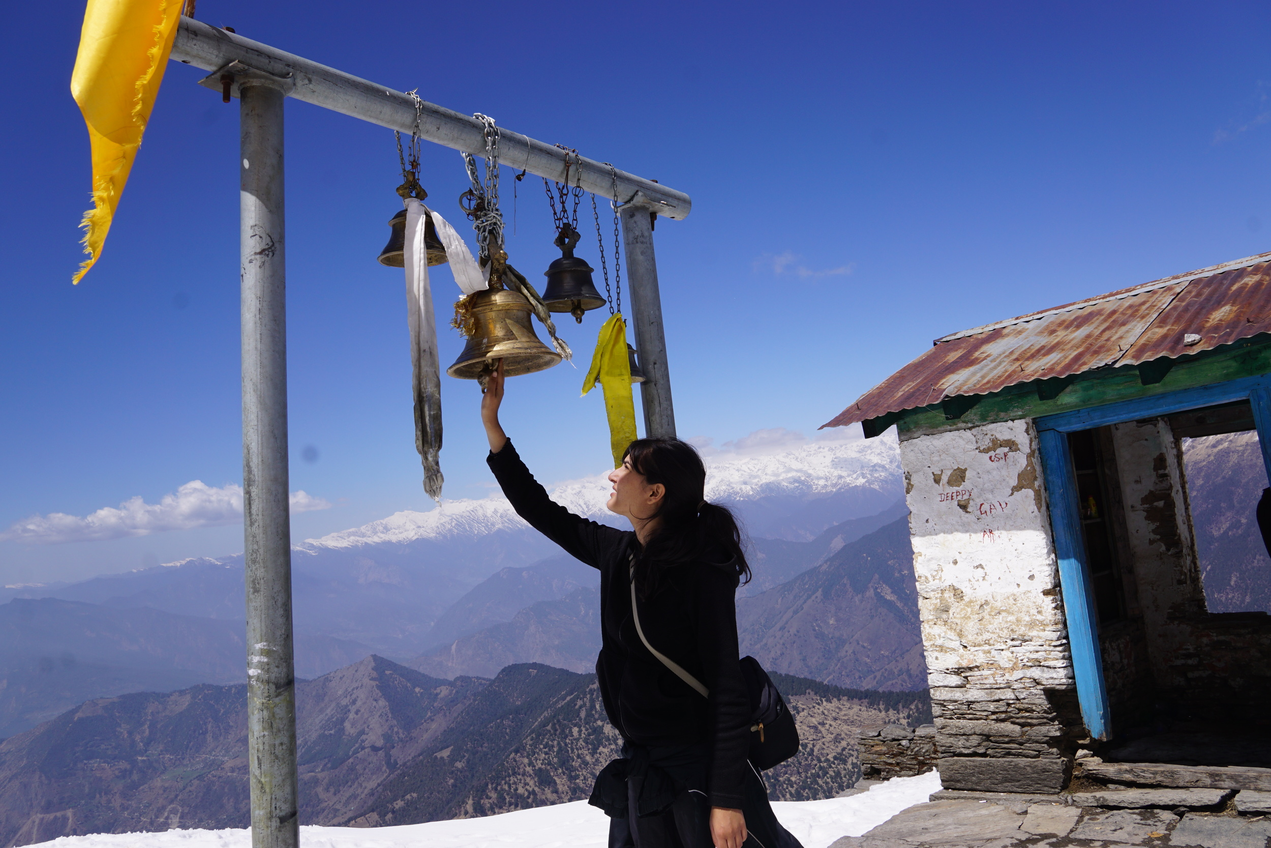 The vibrations on top of Tungnath as I hit the bell were the closest thing to attaining enlightenment. The temple bells on the street were nowhere close to what I had experienced here.