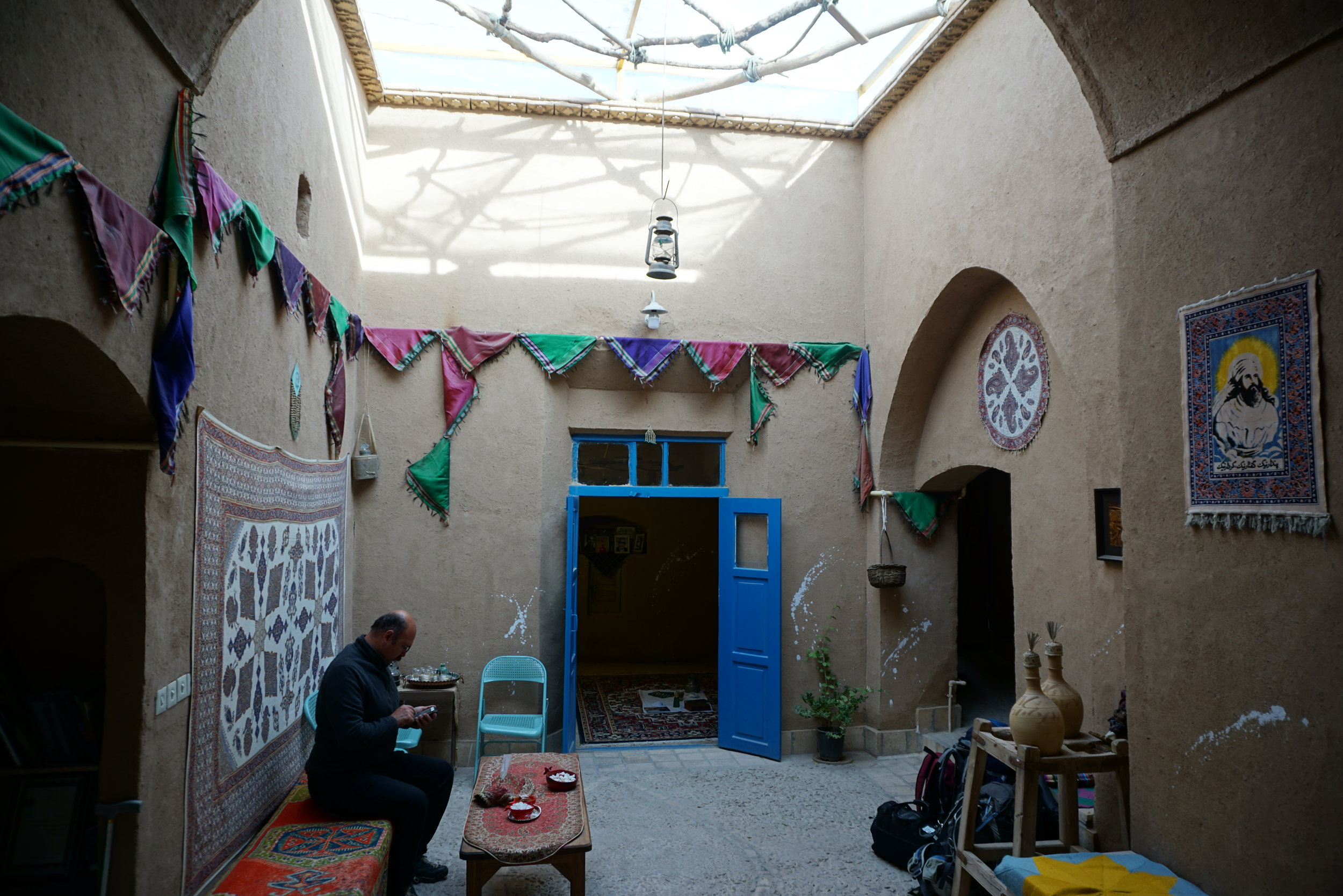 A quaint zoroastrian ecolodge in yazd iran called nartitee ecolodge