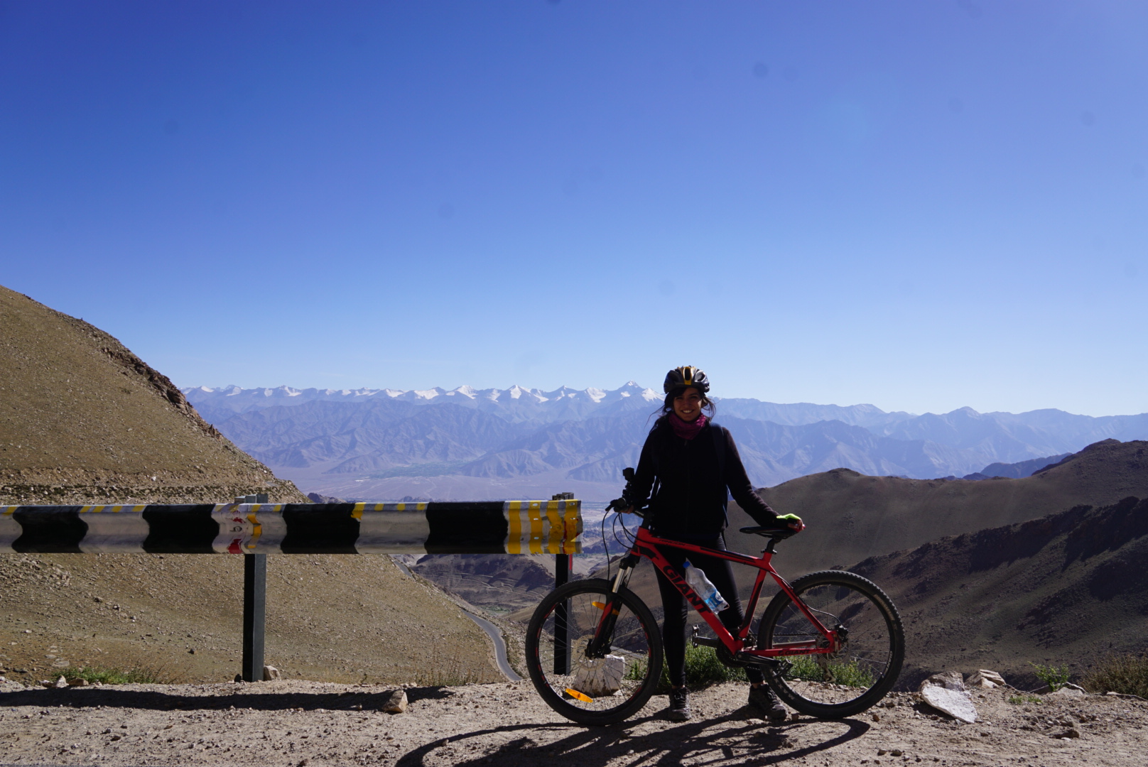 If you are interested on an adventure of any scale, I would urge you get on a bike, especially on the highest motorable road in the world.