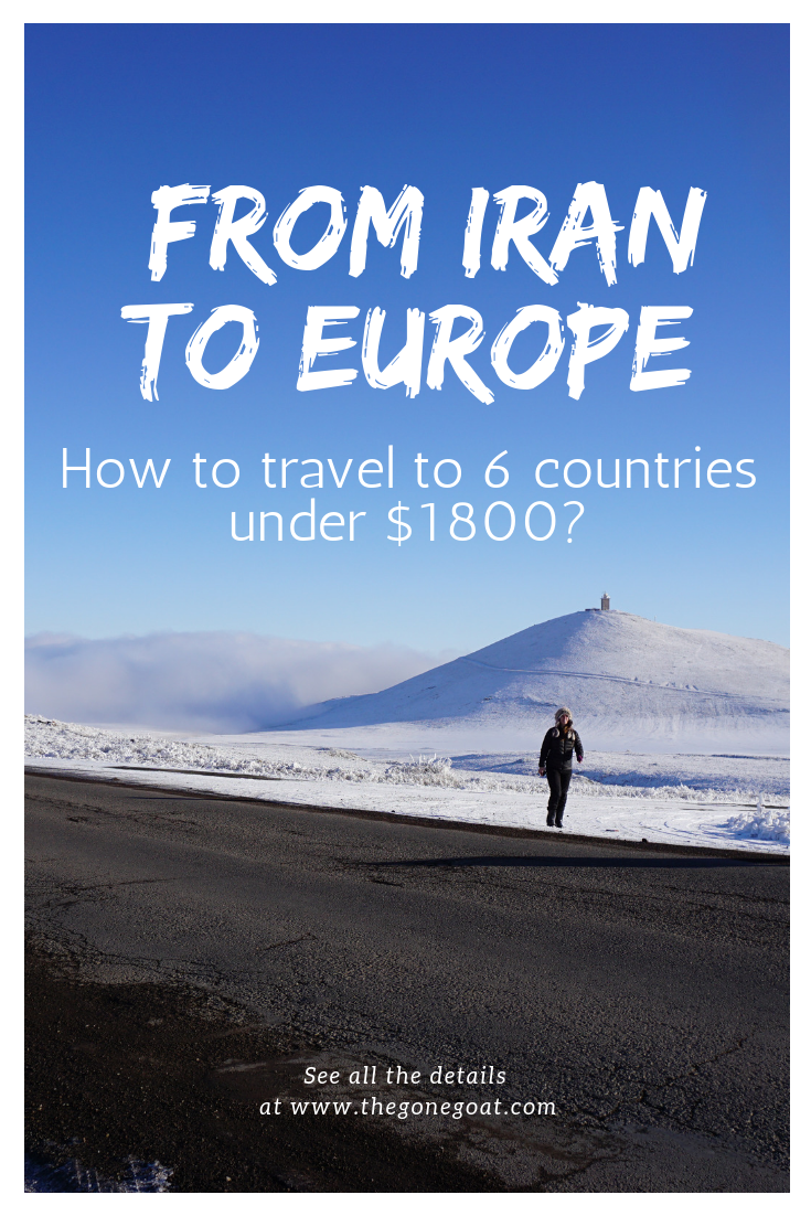 Travelling overland from Asia to Europe? Here's how I travelled from Iran to the Caucasus and Europe through an adventure. You see history of the forgotten lands from a different side, and experience a massive region of varied geography - from the Persian empire to the influence of Iran in the South Caucasus. #OverlandTravel #Asia #Europe #AdventureTravel #TravelDestinations #Caucasus