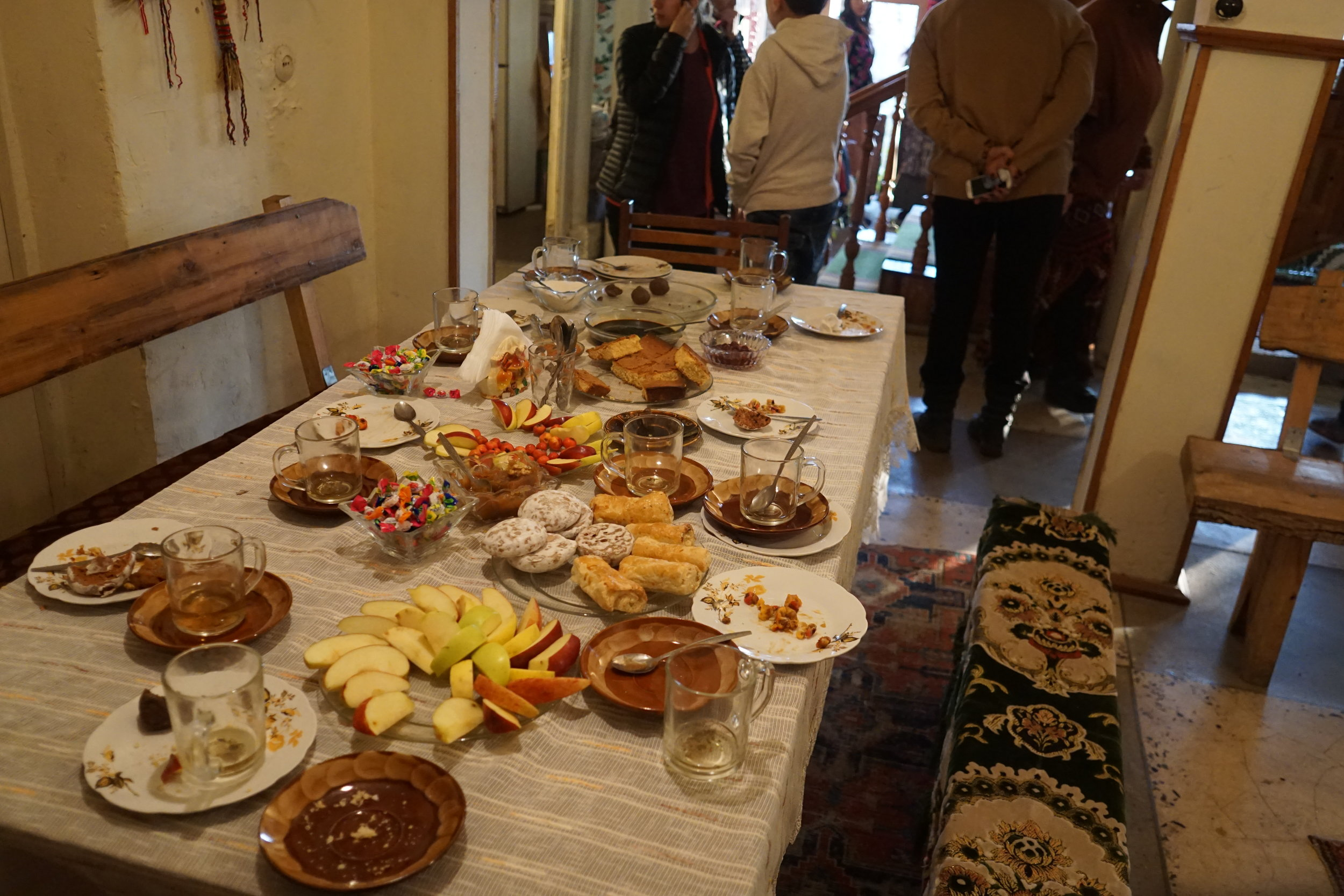 Feasting in Armenia, the Caucasus region
