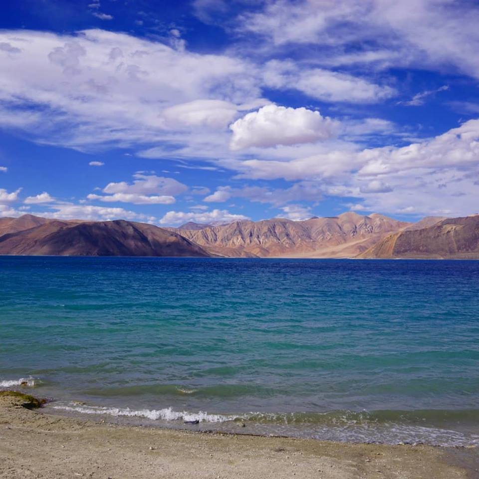Ladakh, pangong lake in india, one of the best places to travel solo in asia